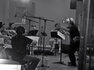 Gil Goldstein directing Strings